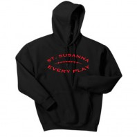 Black Football Sweatshirt
