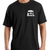 CWLC T473 Black Mens Dry Zone T-Shirt