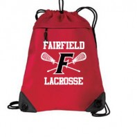 FAIRFIELDLAX CINCH SACK RED