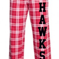 HAWKS Red PJ Pants