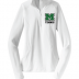 Ladies White 14 Zip