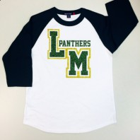 Little Miami Panthers Glitter T