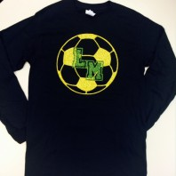 Little Miami Soccer Glitter T