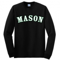 Long Sleeve Black Mason Tee