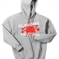 ST Sue Volleyball Gray Sweatshirt