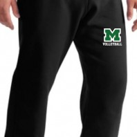 Volleyball Black Sweats